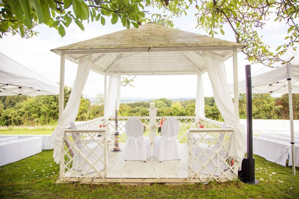 Hochzeitspavillon Hofgut Eugensberg – Foto von Christoph Letzner