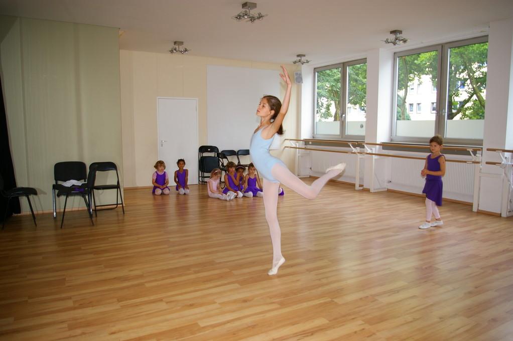 Erarbeitung einer Choreographie im Sommercamp