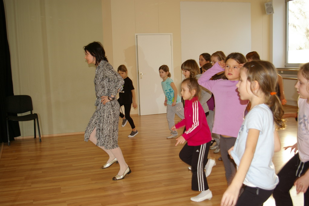 Stepptanz im Workshop