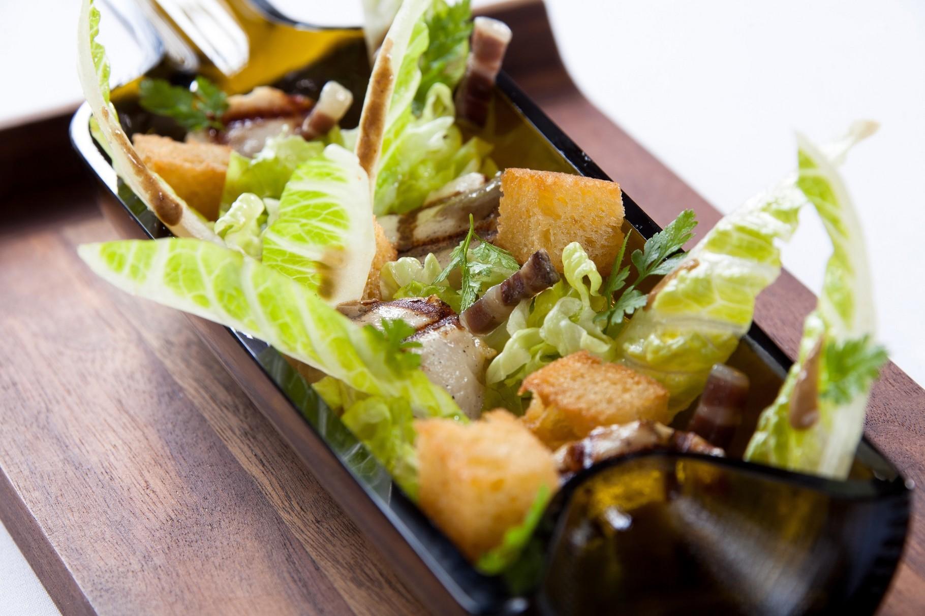 Salade Caesar - Hostellerie de Plaisance