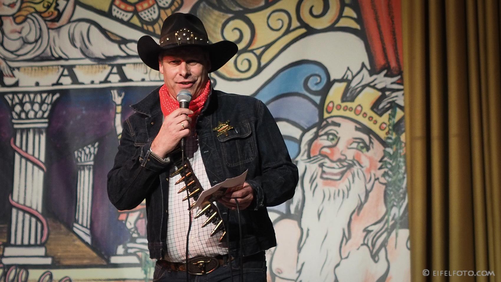 Festkomitte-Präsident der Kölner Karnevals, Markus Ritterbach 2017