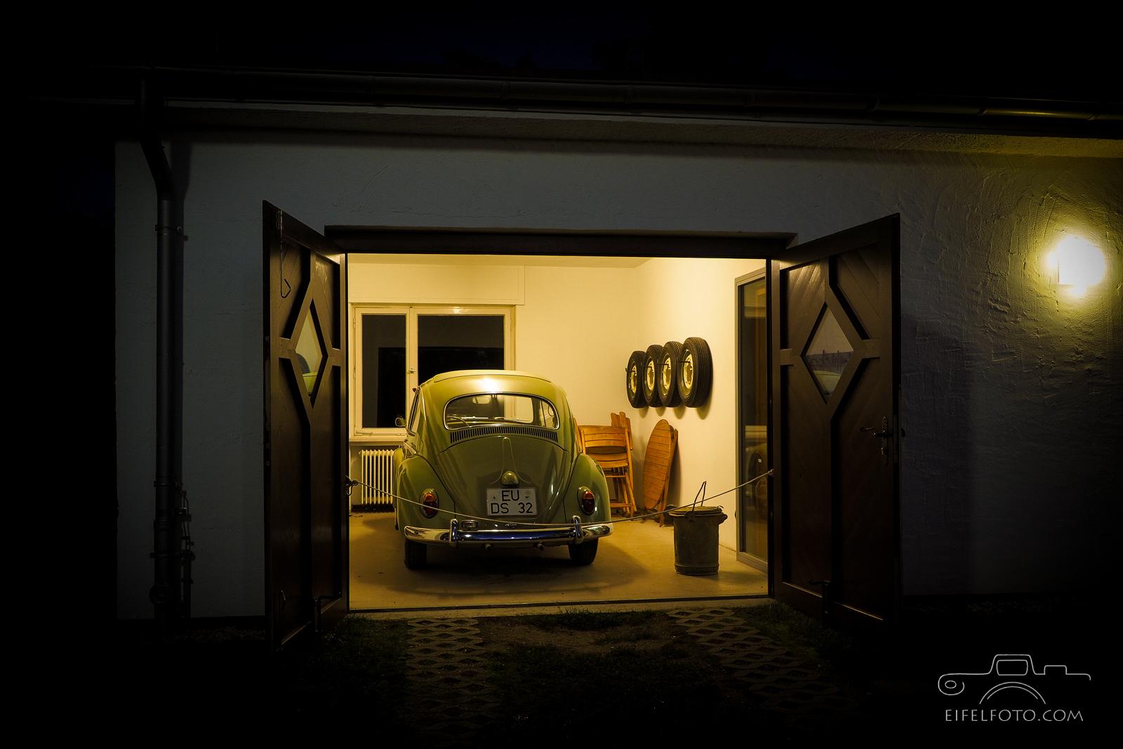 """Garage aus """"Käfer""""-Zeiten"""