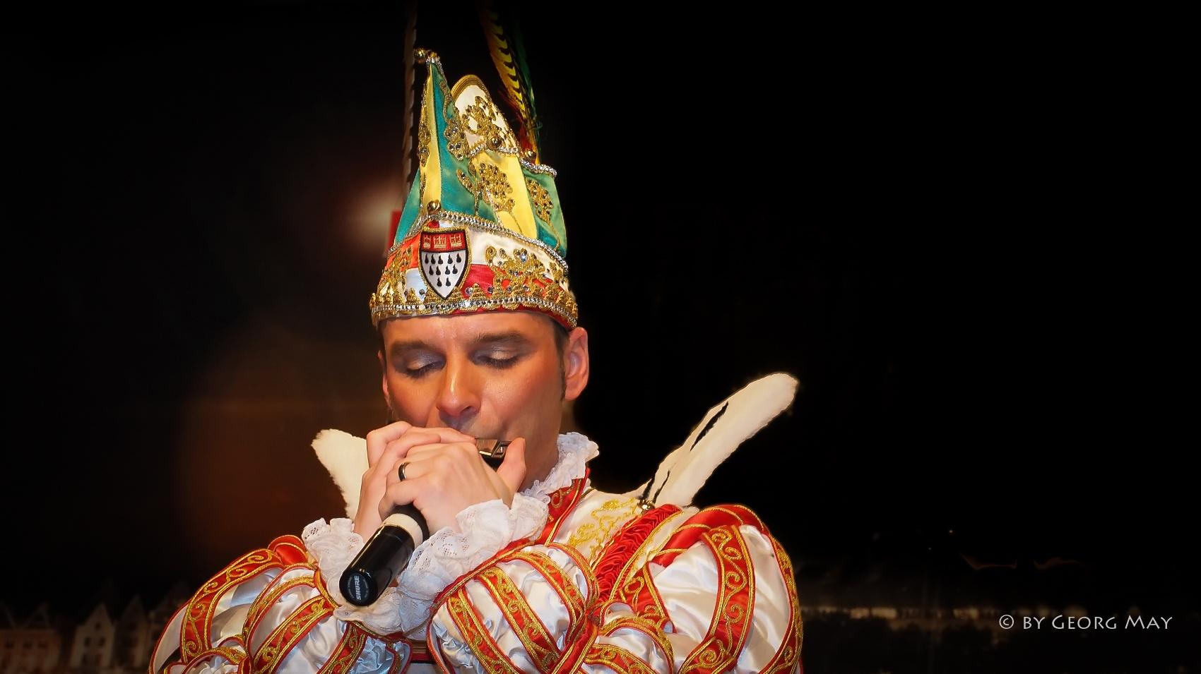 Der Kölner Prinz Karneval 2015, Holger Kirsch - der Prinz mit der Mundharmonika