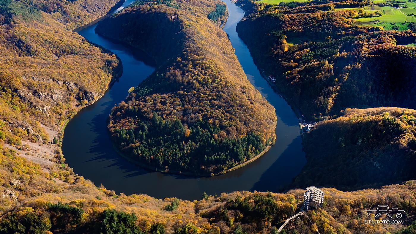 Luftbild: Die Saarschleife