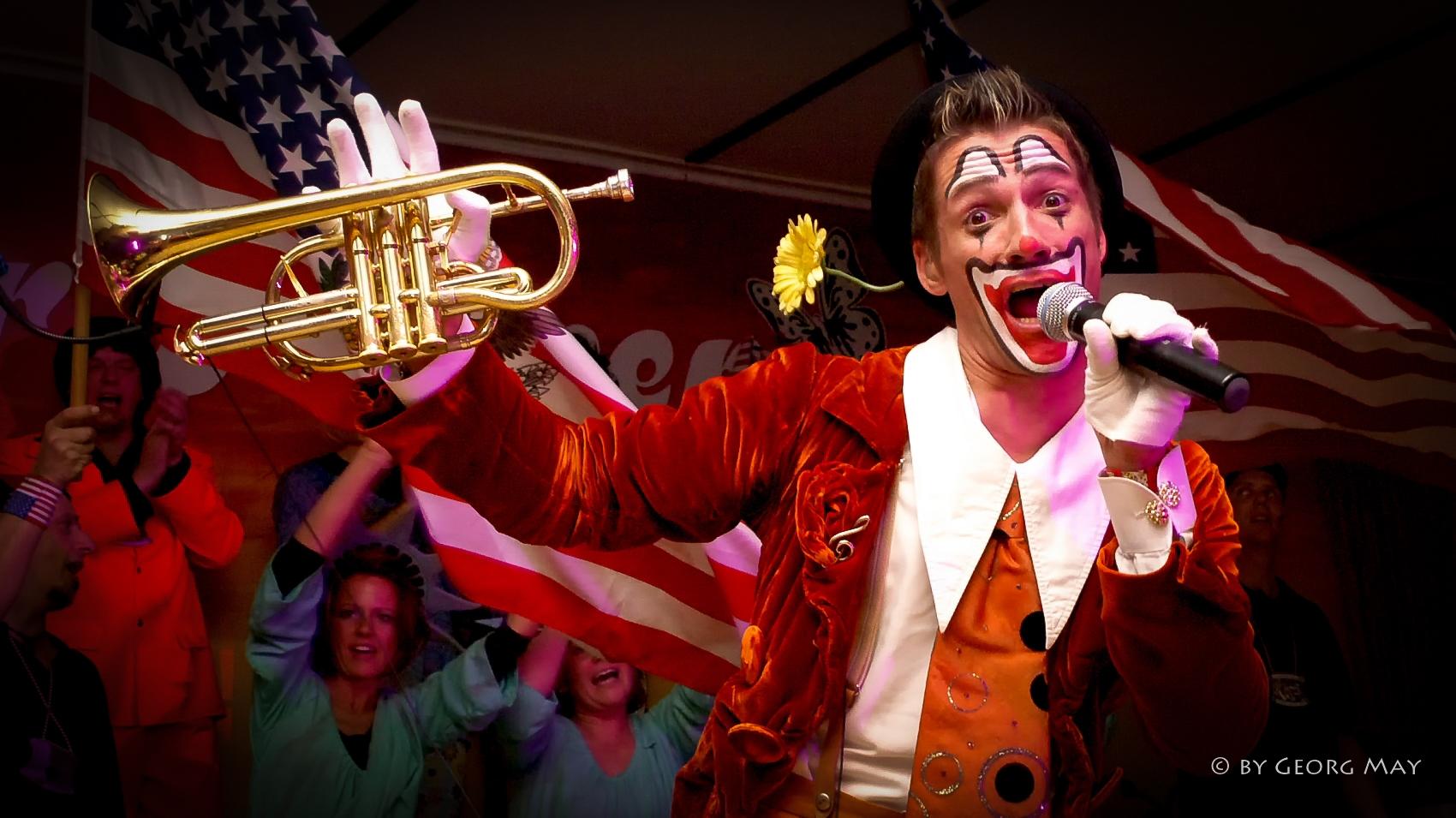 Bruce Kapusta - Trompeter, Sänger und Entertainer