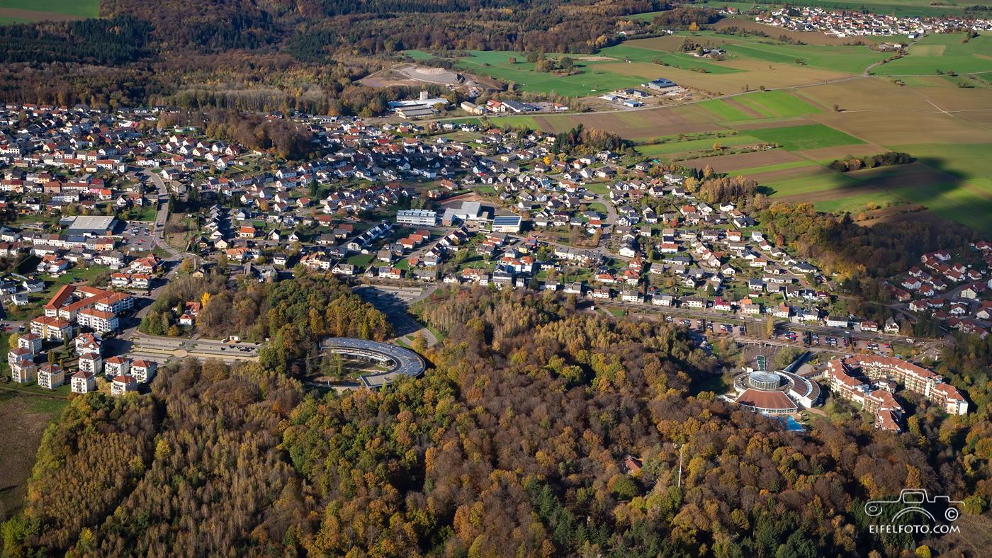 Luftbild: Orscholz unweit der Saarschleife