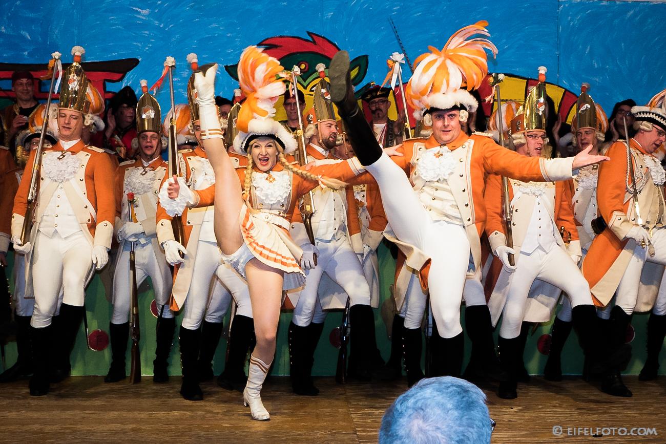 Christina Pohl & Patrick Karolus - Tanzpaar der Nippeser Bürgerwehr (Appelsinefunke)