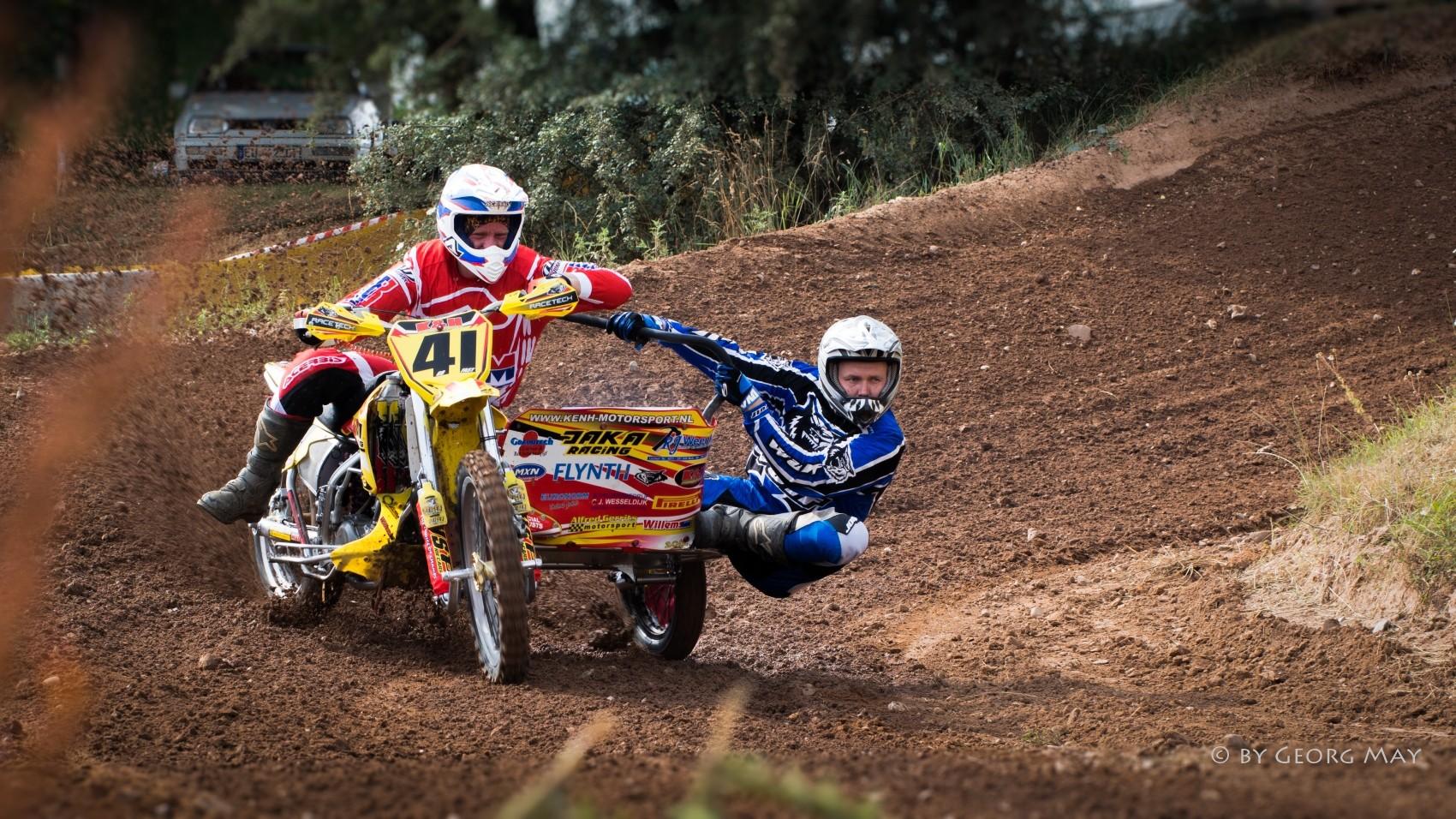 Motocross-Gespann