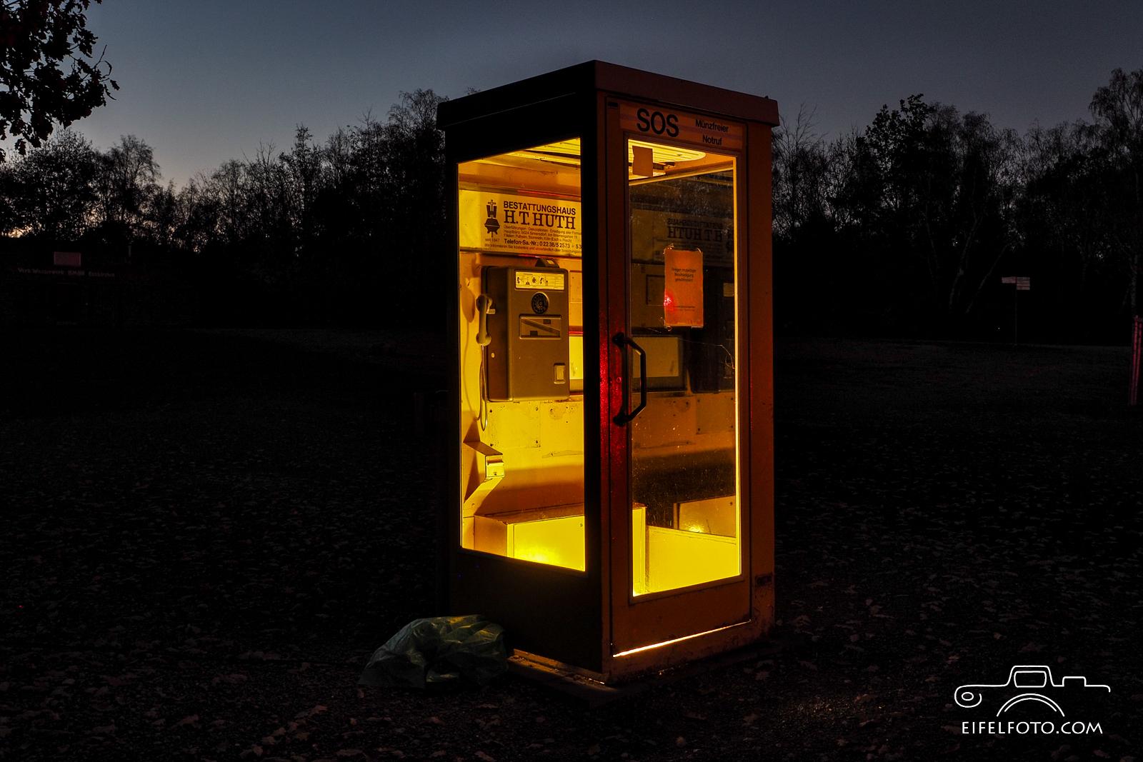 Historische Telefonzelle