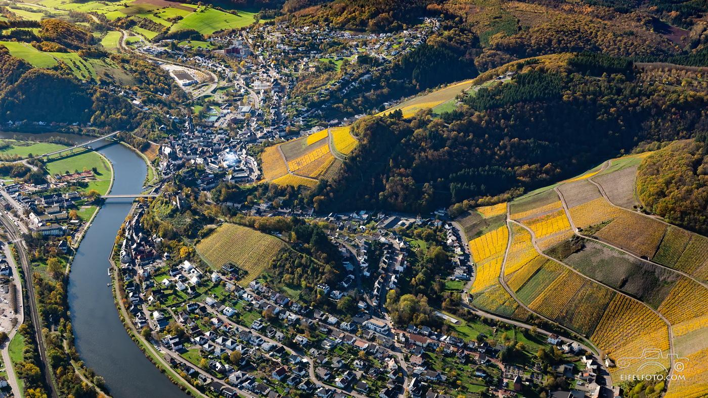 Luftbild Saarburg