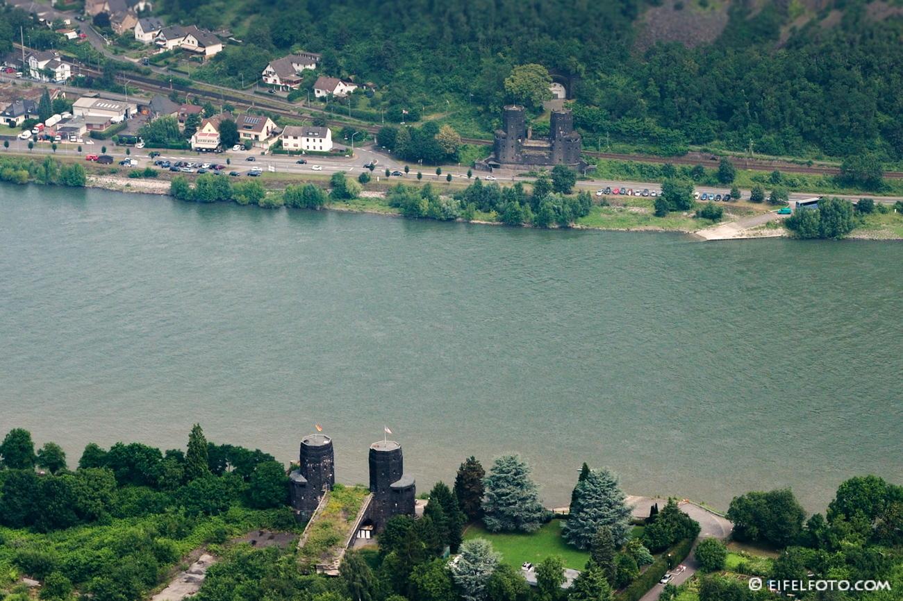 """Die ehemalige Ludendorff-Brücke - heute ein Friedensmuseum - wurde als """"Brücke von Remagen"""" bekannt"""