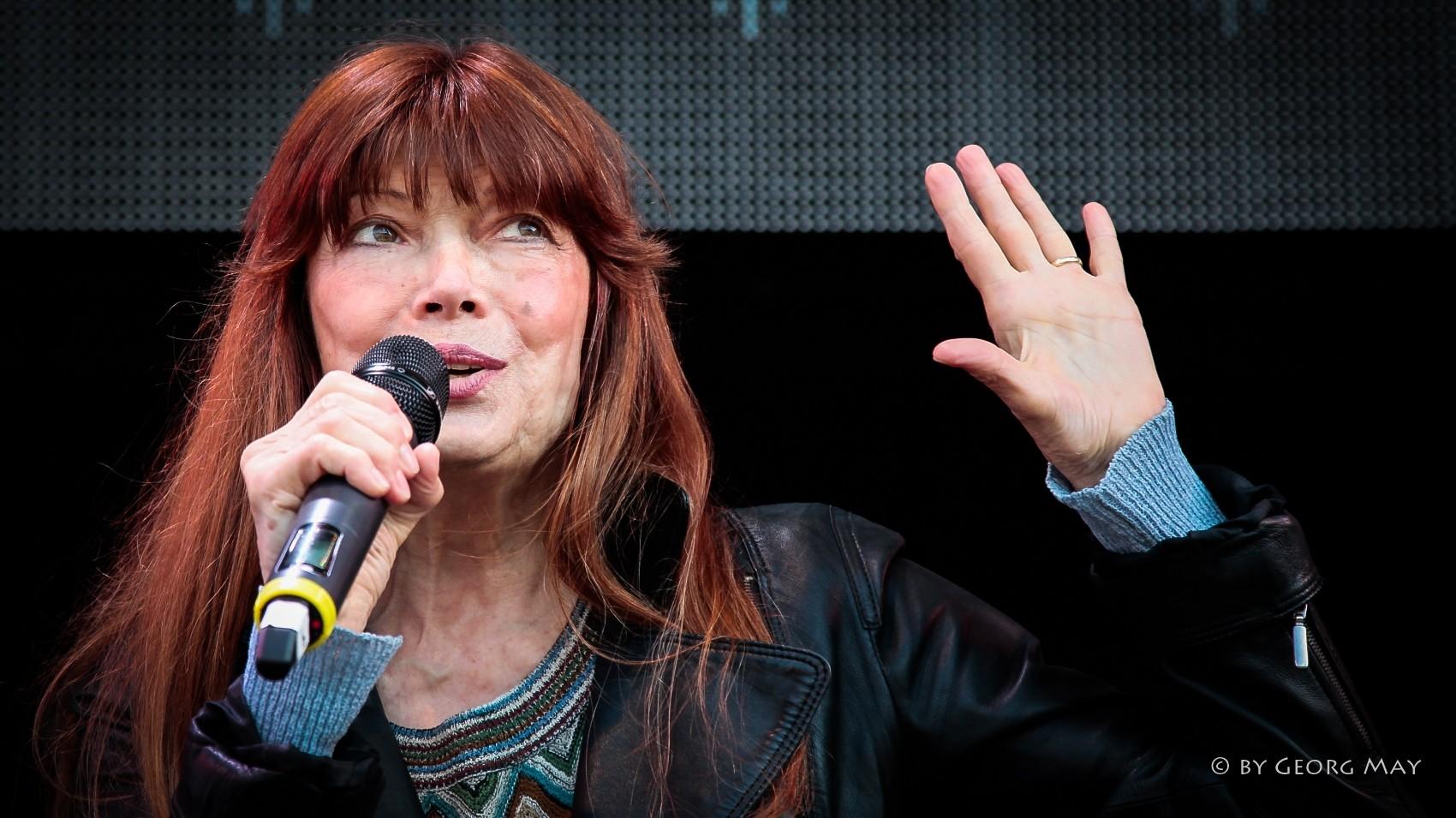 Sängerin Katja Ebstein