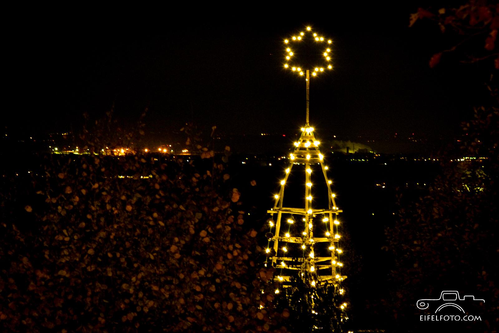 Weihnachtsbaum am Freilichtmuseum