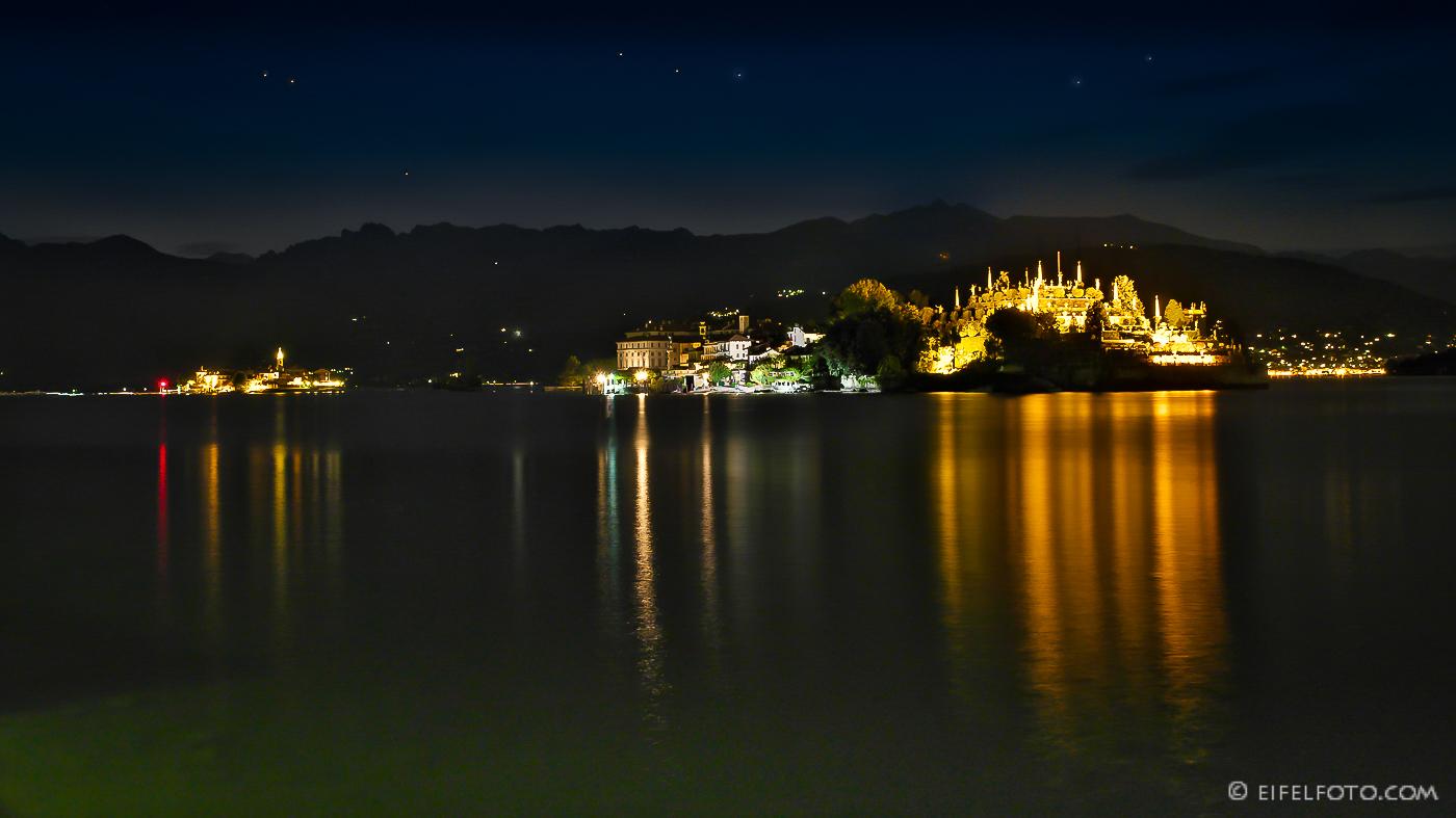 Nacht am Lago Maggiore