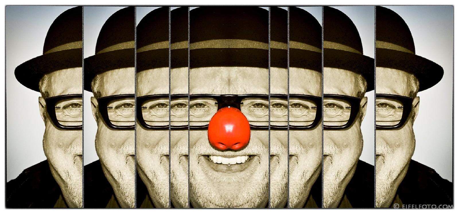 Collage Willibert Pauels - ne Bergische Jung
