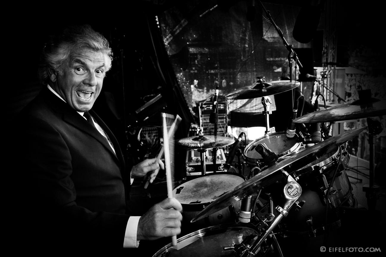 Barry Whitwam, Drummer der legendären Band Herman's Hermits