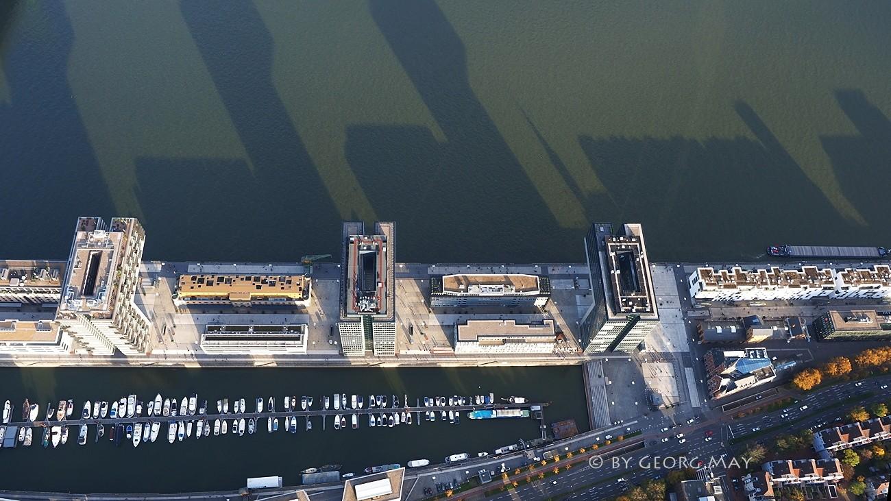 Die Kranhäuser im Rheinauhafen Köln