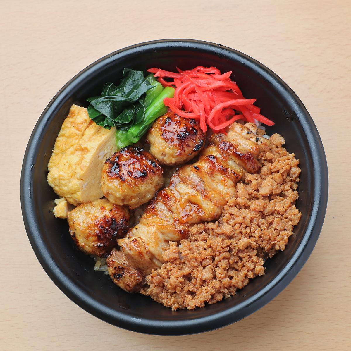 ⿃益特製 焼き⿃丼 680円