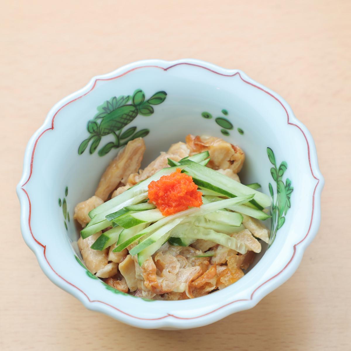 鶏皮ポン酢 390円