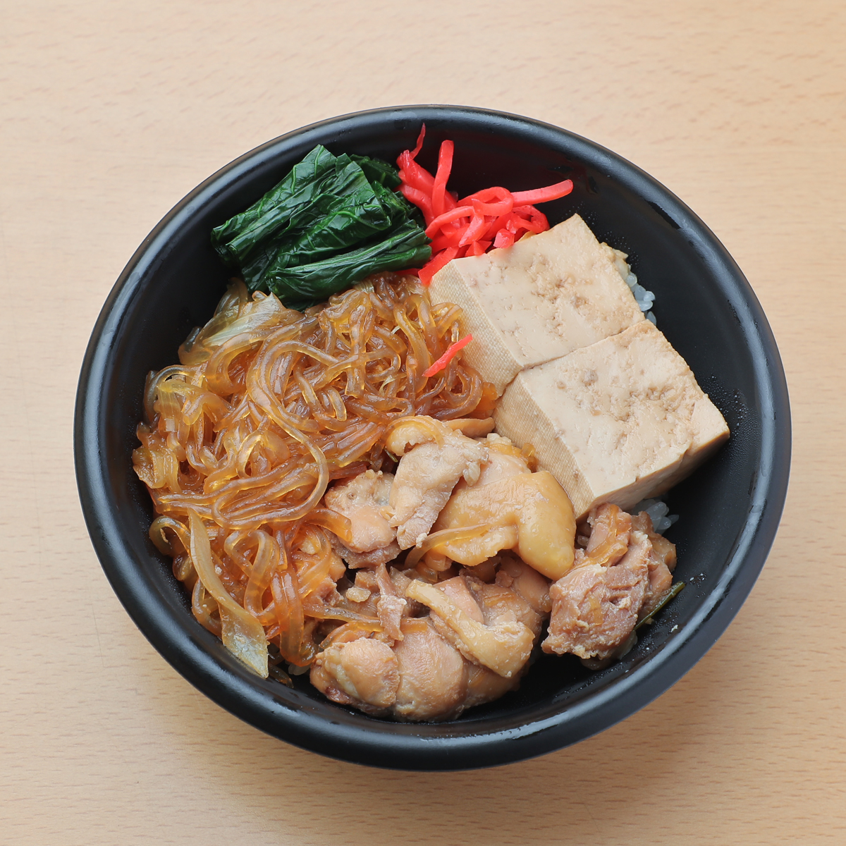 とりすき丼 580円