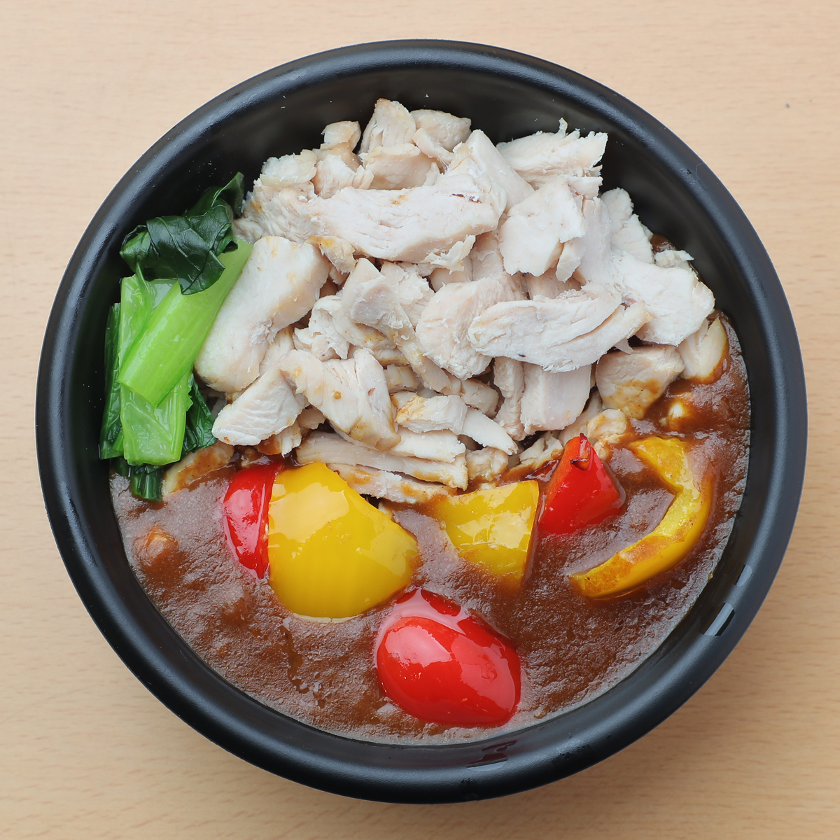 サラダチキンを⾷べるカレー丼(⿃むね) 680円
