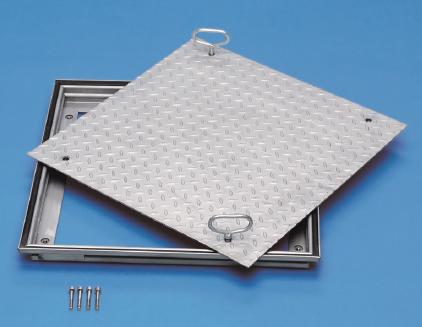 schachtabdeckung aus aluminium mit riffelblechdeckel schachtabdeckung schachtabdeckungen. Black Bedroom Furniture Sets. Home Design Ideas
