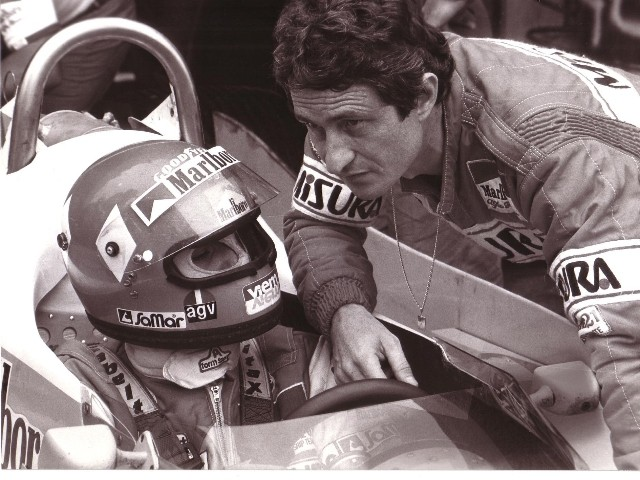 Bruno Giacomelli and Patrick Depailler