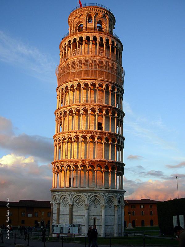 Tramonto sulla Torre di Pisa
