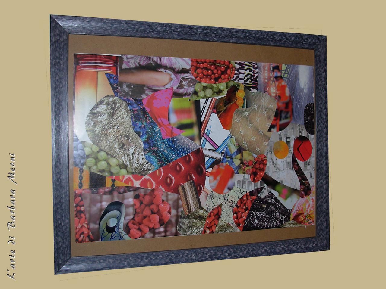 Collage 35x50 cm