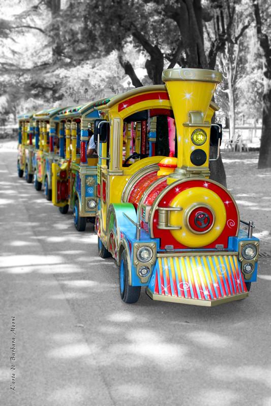 Un treno di colori