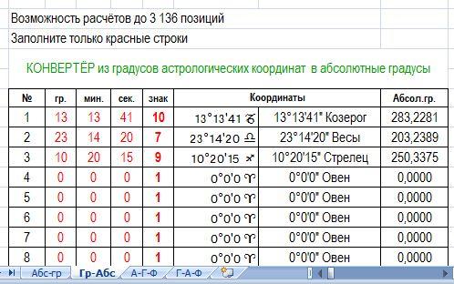 Скриншот листа-2