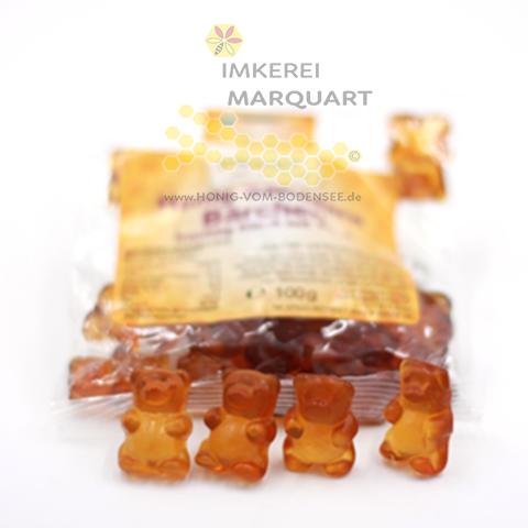 Honig Sanddorn Bären mit Fruchtsaft