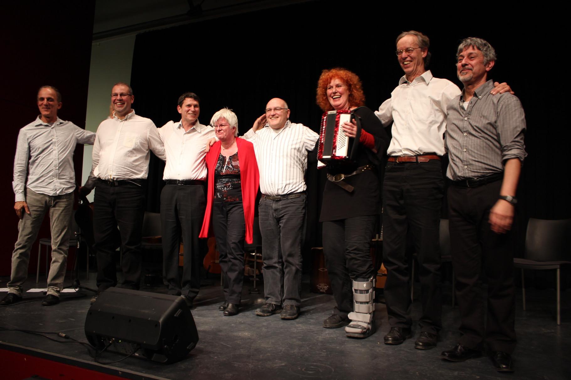Konzert mit Ahmed el Salamouny und Gilson de Assis