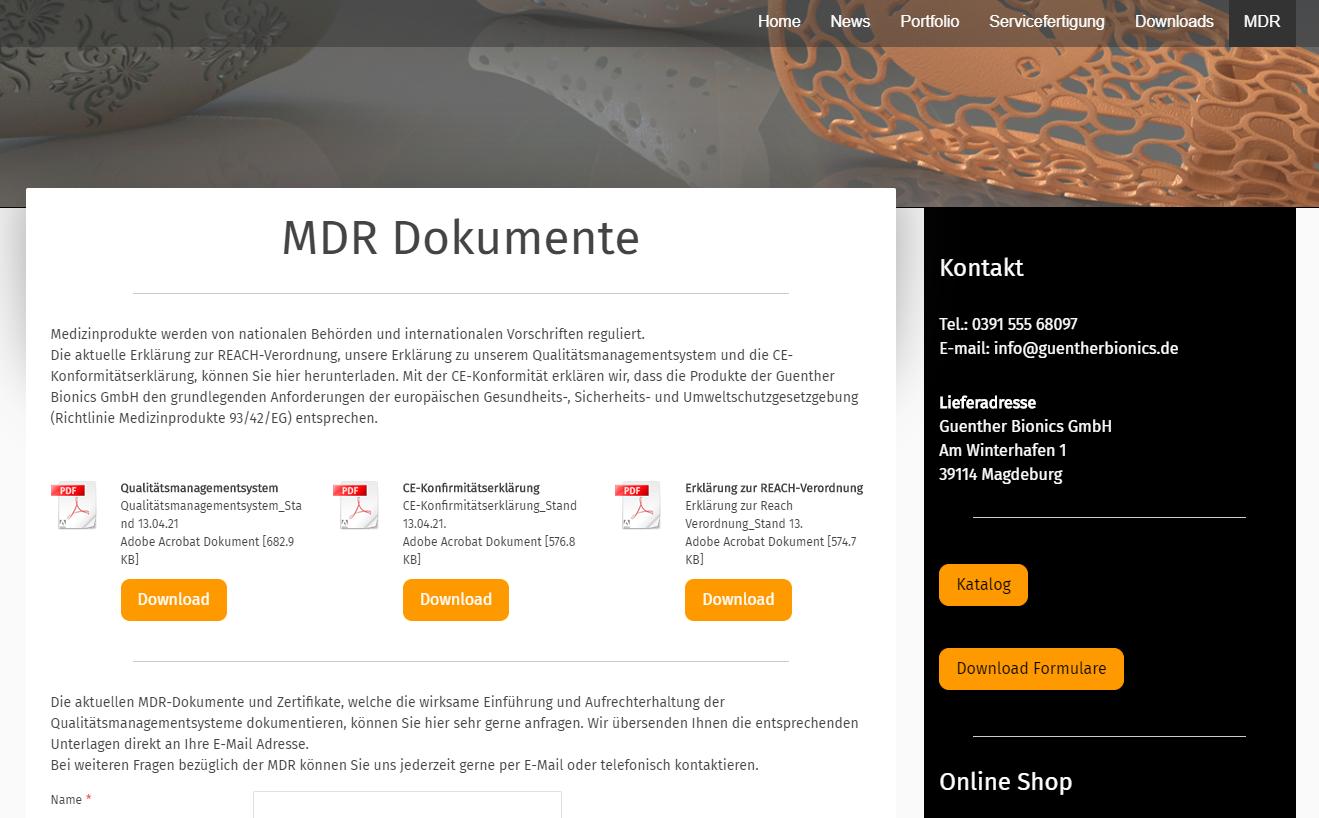 MDR Dokumente