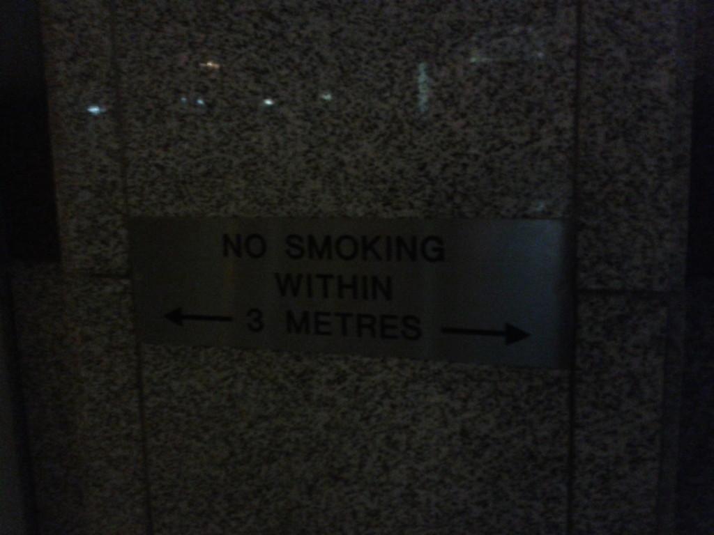 Wind ist übrigens auch verboten!