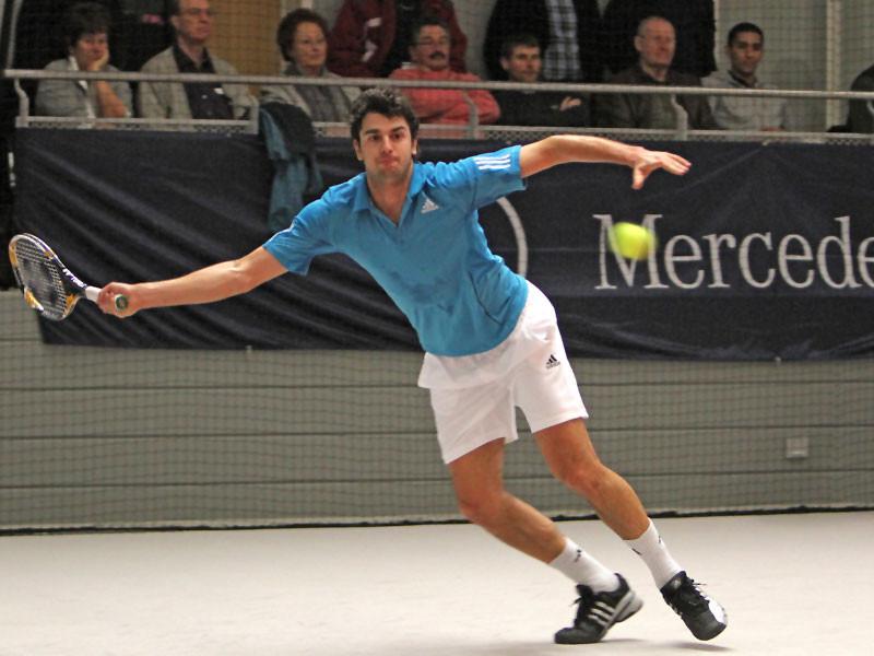 Mario Ancic beim MLP-Cup 2010