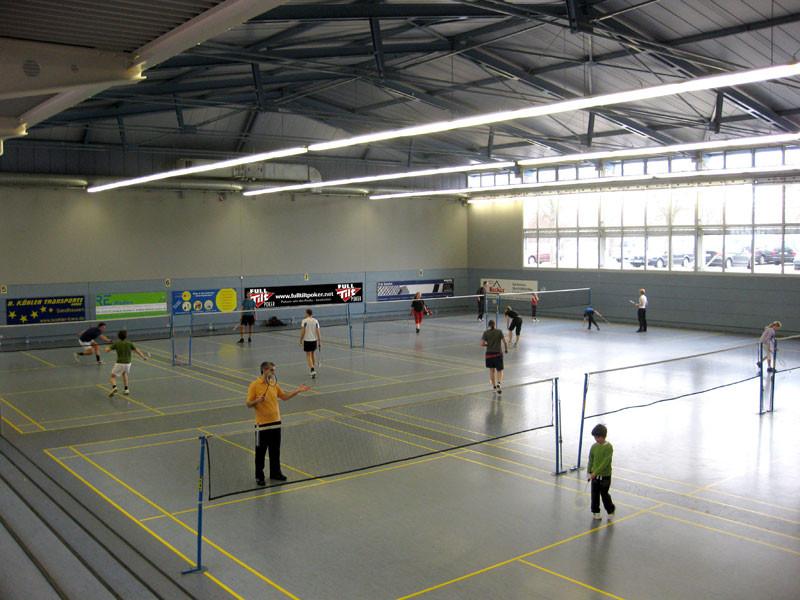 Badminton-Halle