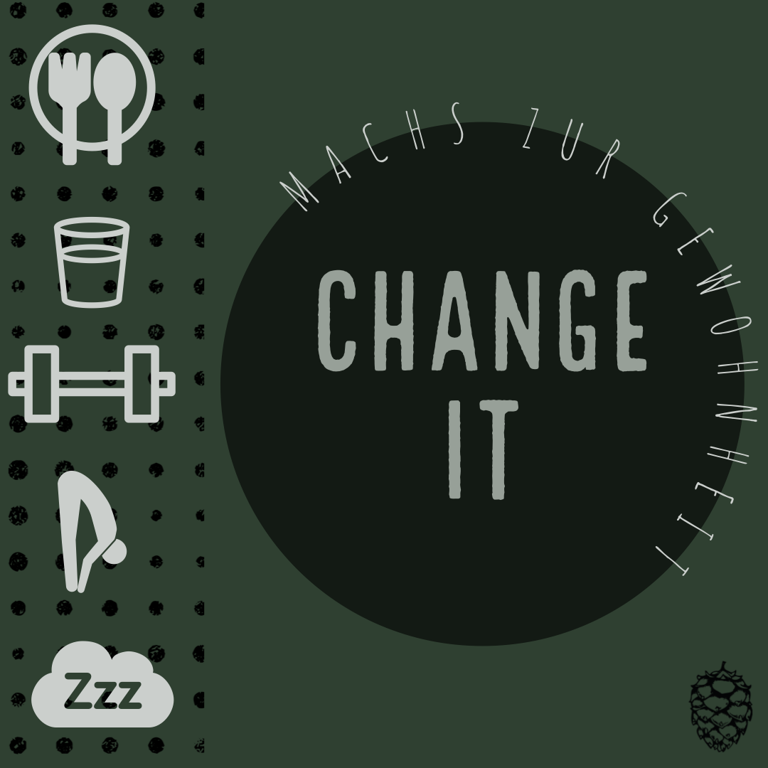 Change It - Machs zur Gewohnheit