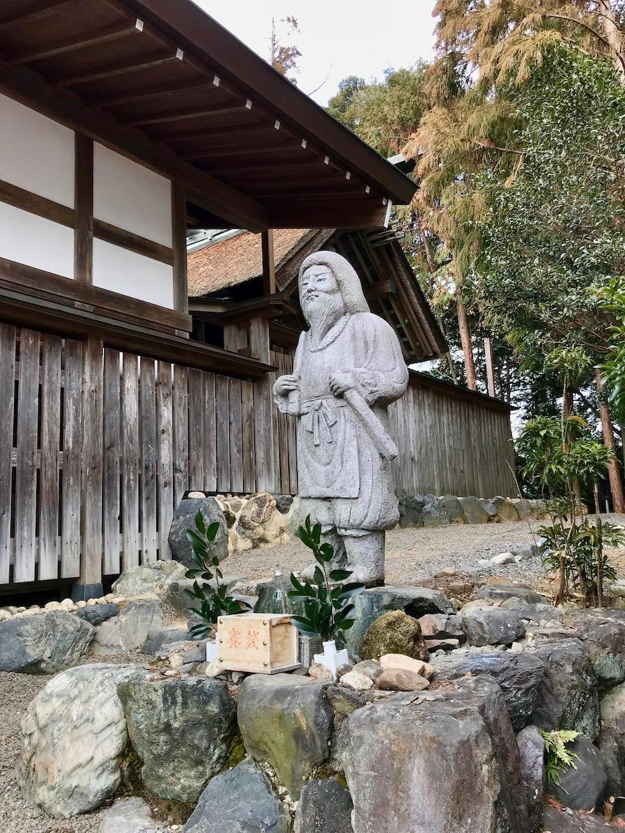日本武尊石像
