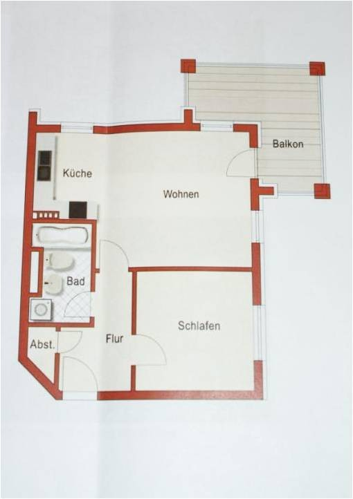 Der Grundriss Ihrer Wohnung