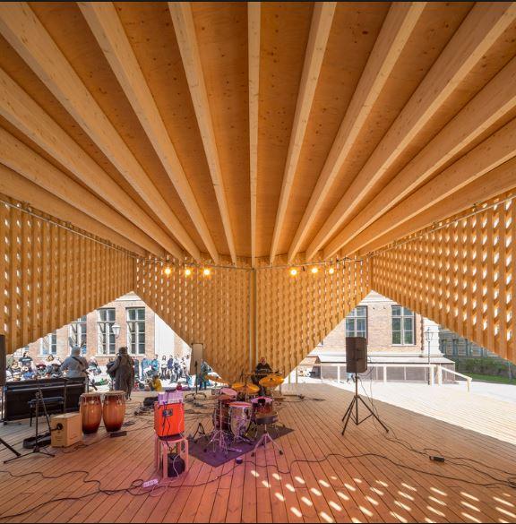 aalto大学のデザインの一部