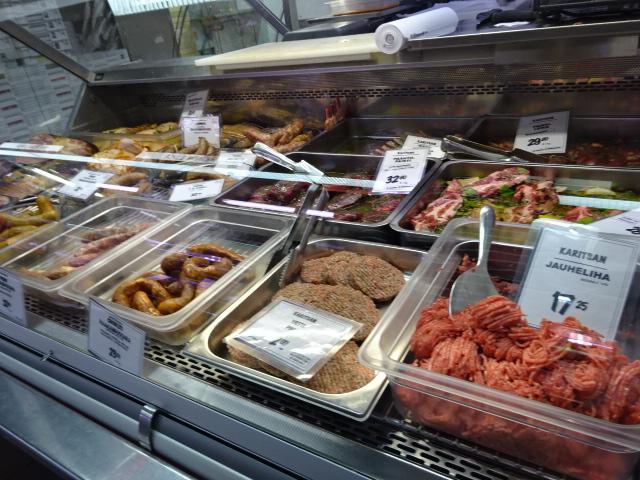 映画かもめ食堂で、片桐はいりさんがトナカイの肉を買いに来たお店
