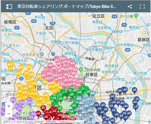 文京区以南はたくさんあるけど、私がよくいる区には・・・・。