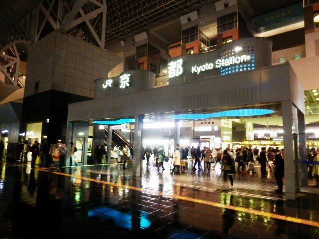 実は京都駅のアトリウムもトラス構造