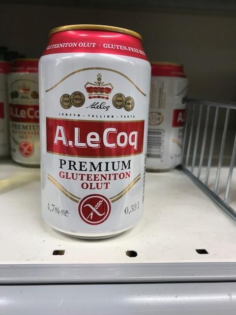 グルテンフリーのビールがスーパーで売ってる