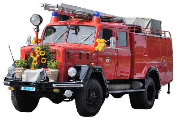 Das Lisi von 1965 welches heute im Besitz der Freunde der Feuerwehr Düdingen ist