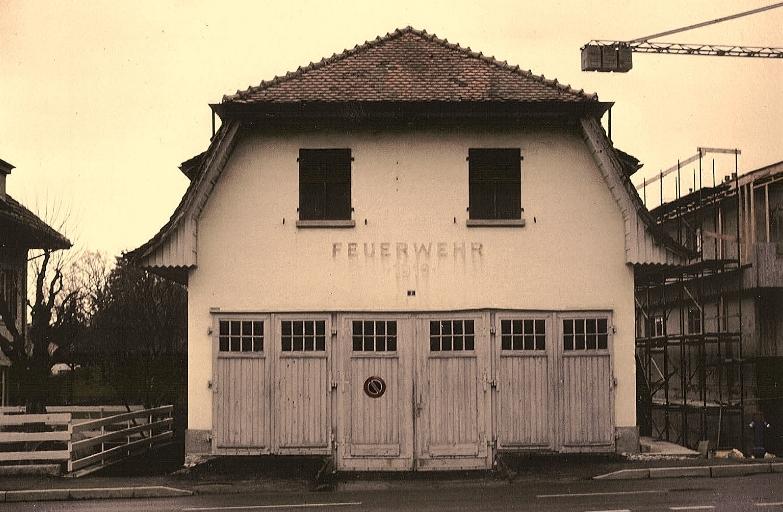 Das alte Feuerwehrlokal von 1919 nach der Anpassung