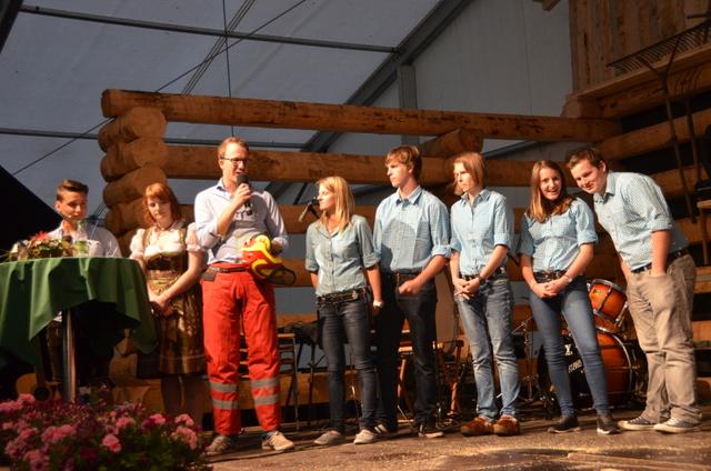 Jugend vor den Vorhang - Jungbauernschaft Landjugend Klostertal