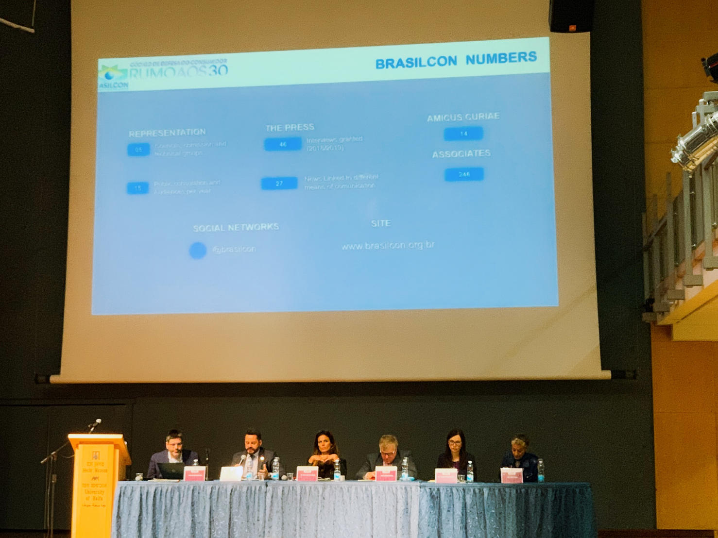 Panel 2 : Enforcement of Consumer Rights by Associations and Regulators: Jeremy A. Lieberman (Pomerantz LLP), Maria José AZAR-BAUD (Paris-Sud university), Diogenes Carvalho (University of Rio Grande do Sul), Augusta Maciuleviciute  (BEUC)
