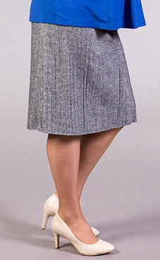 winter maternity skirt gray